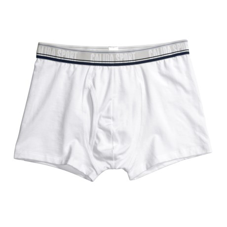Calida Sport New Boxer Brief Underwear with Fly - Single-Jersey Cotton (For Men)