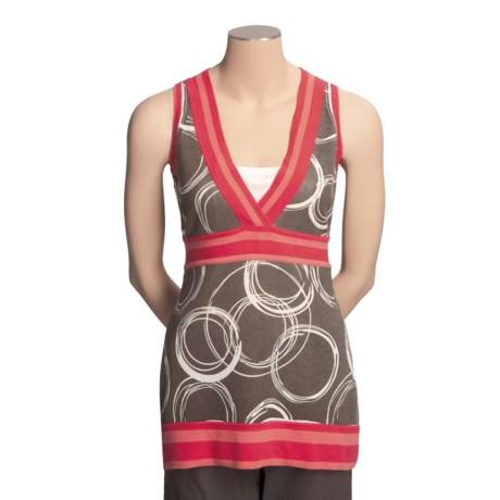 Neve Rowan Circle Tunic Shirt - Cotton, Sleeveless (For Women)