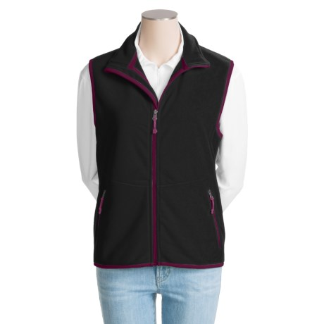 Double Diamond Sportswear Double Diamond by Black Diamond Sportswear Shyla Vest - Fleece (For Women)