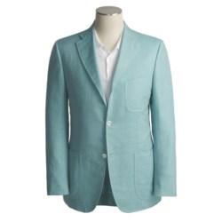 Isaia Linen-Rich Sport Coat (For Men)