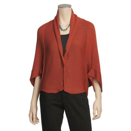 Two Star Dog Debbie Cardigan Sweater - 3/4 Sleeve (For Women)