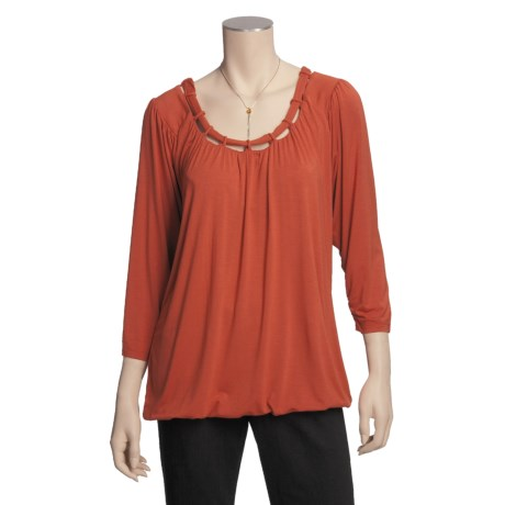 Two Star Dog Judy Shirt - Stretch Jersey, 3/4 Sleeve (For Women)