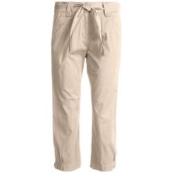 Two Star Dog Jordan Crop Pants - Garment Dyed, Stretch (For Women)
