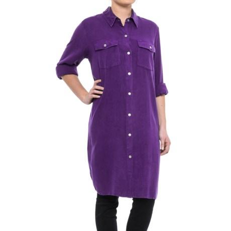 Studio West Plaid Duster Shirt - Long Sleeve (For Women)