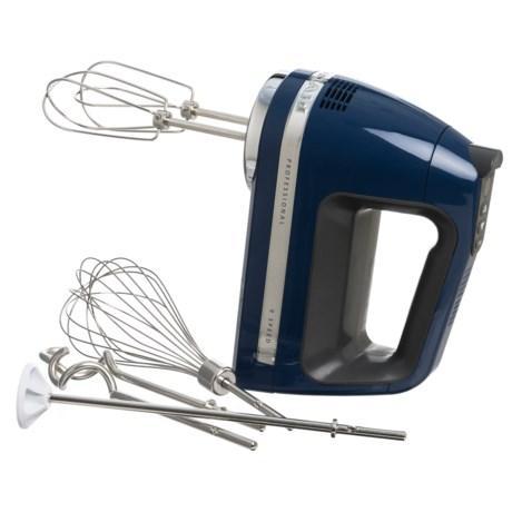 KitchenAid Clean Touch Soft Start 9-Speed Hand Mixer