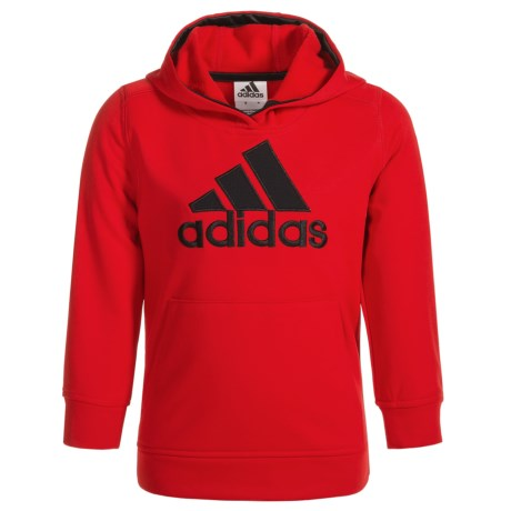 adidas Logo Fleece Hoodie (For Big Boys)