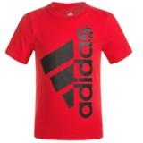 adidas Logo T-Shirt - Short Sleeve (For Big Boys)