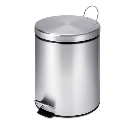 Honey Can Do Round Step Trash Can - 5L