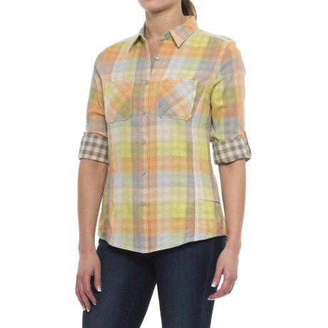 Woolrich Conundrum Eco Rich Shirt - Organic Cotton, Long Sleeve (For Women)