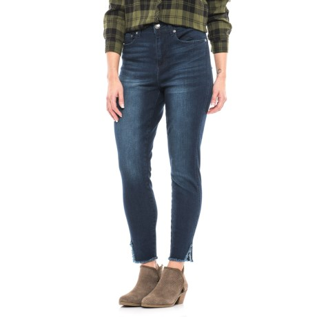 Seven7 Ankle-Slit Stretch Jeans - High Rise (For Women)