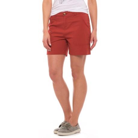 Woolrich Vista Point Shorts - Organic Cotton (For Women)