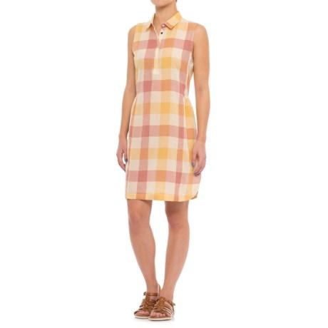 Woolrich Buffalo Shirt Dress - Organic Cotton, Sleeveless (For Women)