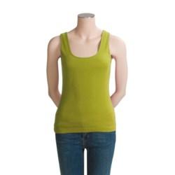 Joan Vass Basic Tank Top (For Women)