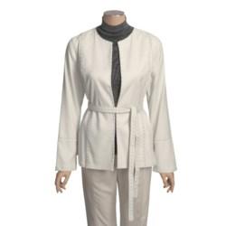 Yansi Fugel Moleskin Nailhead Jacket - Belted (For Women)