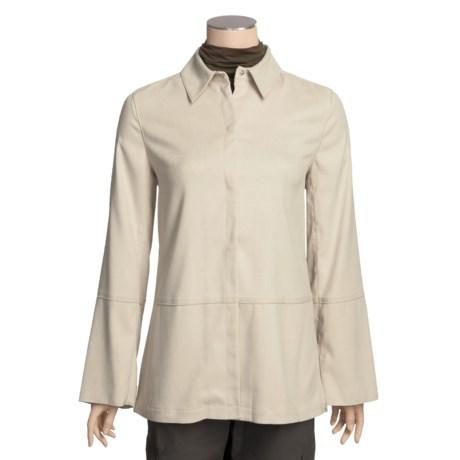 Yansi Fugel Moleskin Tunic Jacket (For Women)