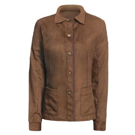 Yansi Fugel Moleskin Shirt Jacket - Adjustable (For Women)