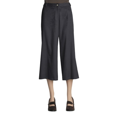 Yansi Fugel Moleskin Split Skirt (For Women)