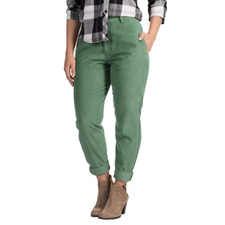Specially made Two-Pocket Corduroy Pants (For Women)