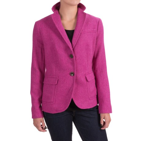 Specially made Wool-Blend Blazer (For Women)