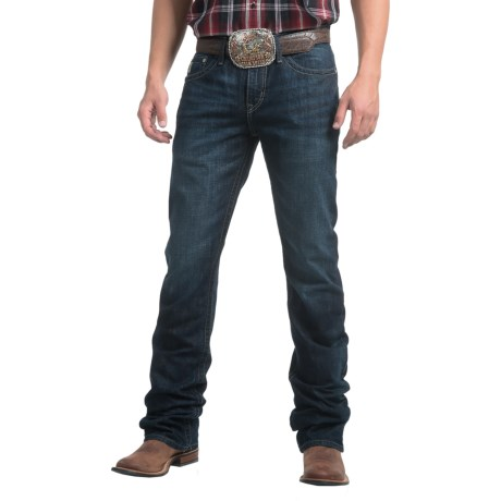 Cinch Ian Dark Stonewashed Jeans - Slim Fit, Bootcut (For Men)