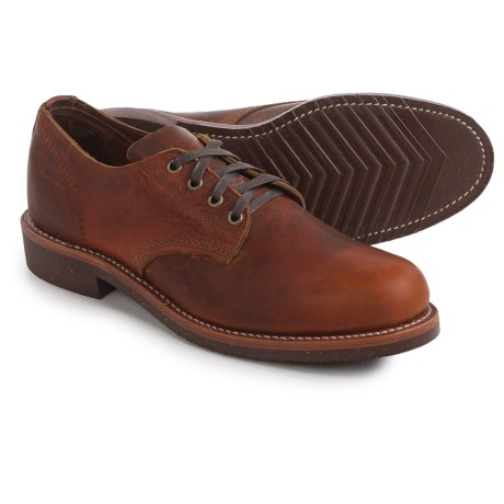 Chippewa Service Oxford Shoes - Factory 2nds, Leather (For Men)