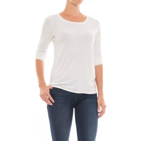Artisan NY Scoop Neck Shirt - Long Sleeve (For Women)