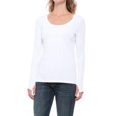 Cynthia Rowley Thumbhole-Cuff Shirt - Long Sleeve (For Women)