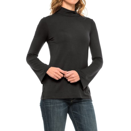 Paraphrase Flare-Sleeve Turtleneck - Long Sleeve (For Women)
