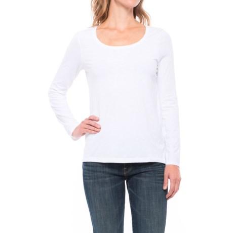Sigrid Olsen Scoop Neck Shirt - Long Sleeve (For Women)
