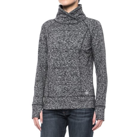 Gerry Luxe Funnel Neck Sweatshirt (For Women)