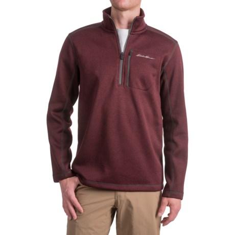 Eddie Bauer Radiator Shirt - Zip Neck, Long Sleeve (For Men)