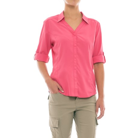 Royal Robbins Expedition Chill Shirt - UPF 50+, Snap Front, 3/4 Sleeve (For Women)