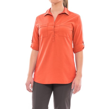 Royal Robbins Expedition Chill Tunic Shirt - UPF 50+, Roll-Up Long Sleeve (For Women)