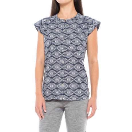 Royal Robbins Cool Batik Camp Shirt - Short Sleeve (For Women)