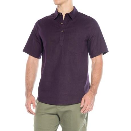 Royal Robbins Salton Sea Popover Shirt - Hemp-Organic Cotton, Short Sleeve (For Men)