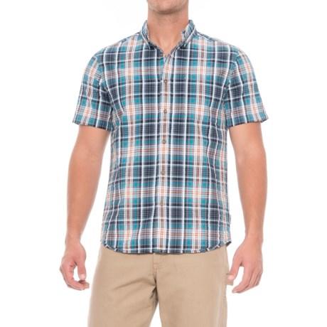 Royal Robbins Mid-Coast Seersucker Plaid Shirt - Short Sleeve (For Men)