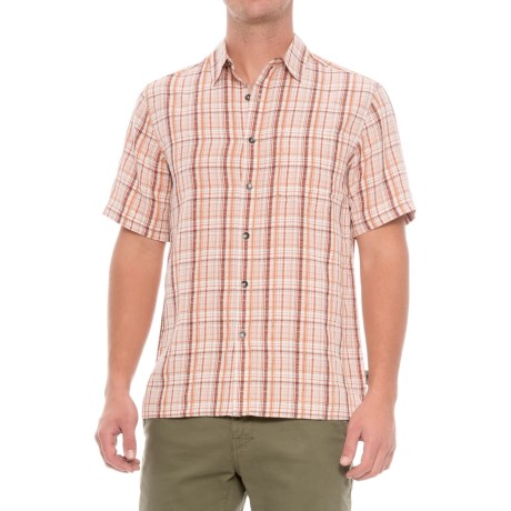 Royal Robbins Pilat Plaid Shirt - Short Sleeve (For Men)