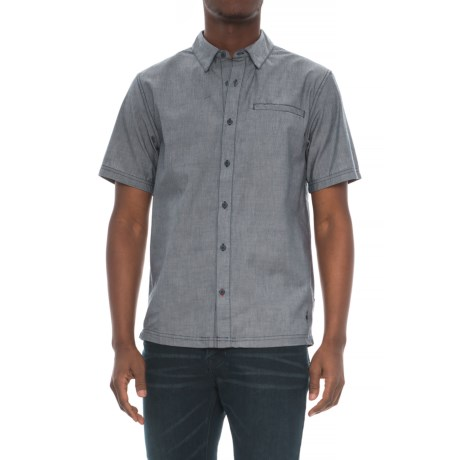 SmartWool Summit County Chambray Shirt - Merino Wool, Organic Cotton, Short Sleeve (For Men)