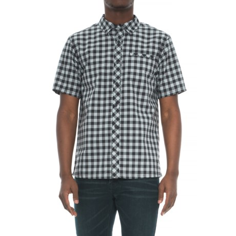 SmartWool Summit County Gingham Shirt - Merino Wool, Organic Cotton, Short Sleeve (For Men)