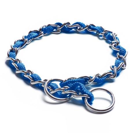 Silver Paw Chain Collar