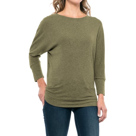 St. Tropez West Dolman Shirt - Modal-Cotton, Elbow Sleeve (For Women)