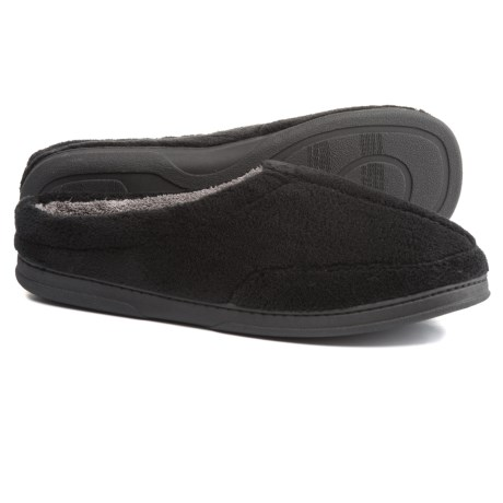 Dearfoams Micro Terry Clog Slippers (For Men)