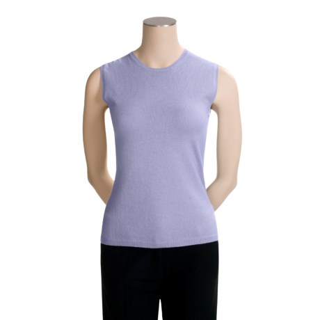 TSE Cashmere Crew Neck Shell - Sleeveless (For Women)