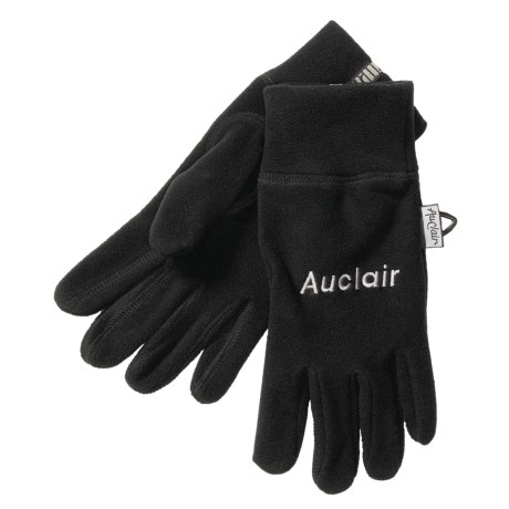 Auclair 4-Way Stretch Fleece Gloves - Recycled Polyester (For Men)