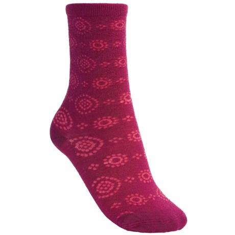 SmartWool Whimsy Unwound Socks - Merino Wool, Crew (For Women)