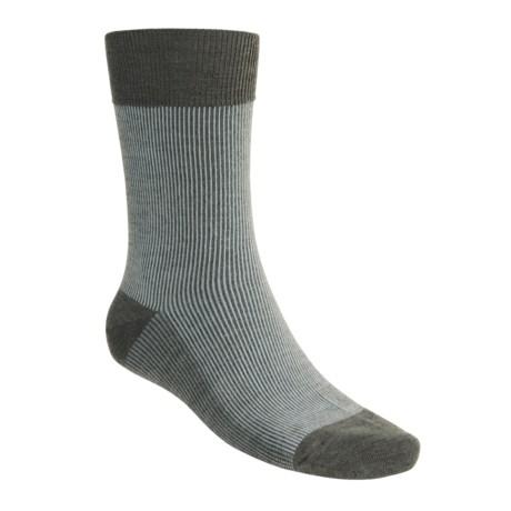 SmartWool Corduroy Casual Socks - Crew (For Men)