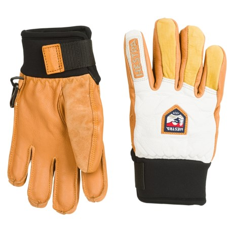 Hestra Freeride Junior Leather Gloves - Waterproof, Insulated (For Little and Big Kids)