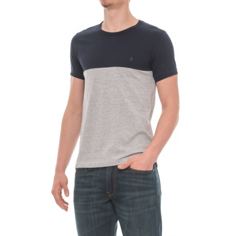 French Connection Color-Block T-Shirt - Short Sleeve (For Men)