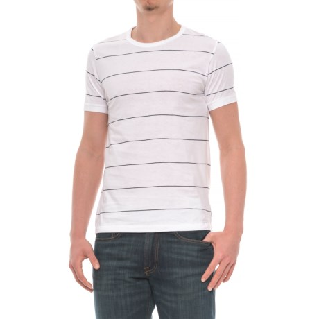 French Connection Simple Stripe T-Shirt - Short Sleeve (For Men)