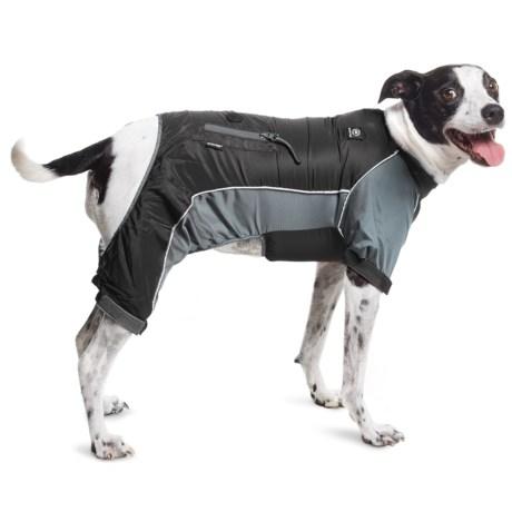 Silver Paw Full-Body Dog Rain Jacket